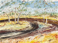 road in the landscape by matthew perceval
