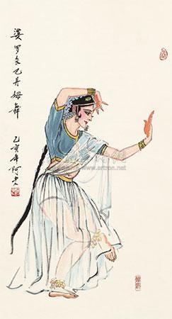 婆罗多巴丹母舞 by a lao