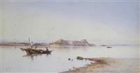 fishermen, corfu by spyridon scarvelli