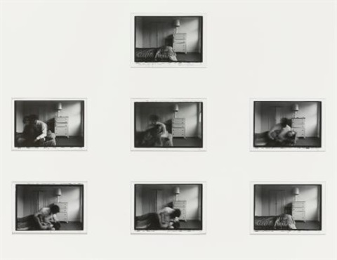 memory of a kiss 7 works by duane michals