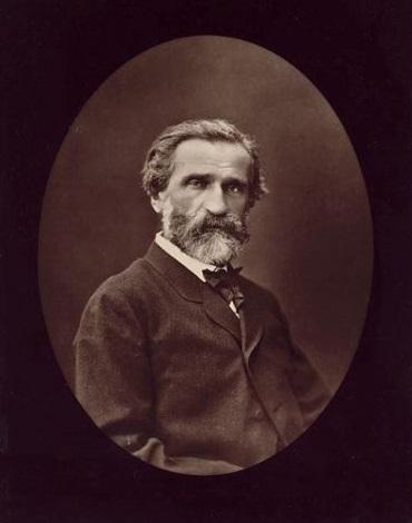 portrait of giuseppe verdi by ferdinand j mulnier