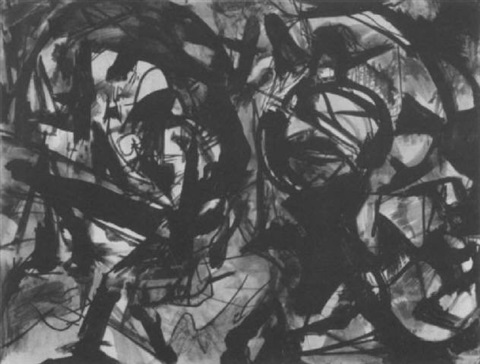 abstract composition by wilfrid zogbaum