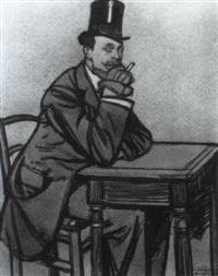 l'homme a la cigarette by maxime dethomas