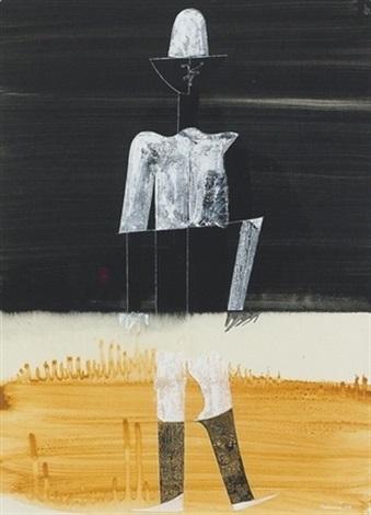 Mann Mit Weissem Hut By Otto Tschumi On Artnet
