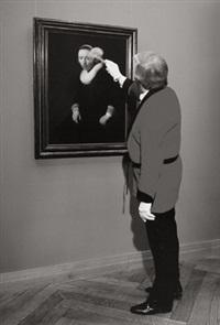 in unmittelbarer nähe (gemäldegalerie der akademie der bildenden künste) by peter dressler