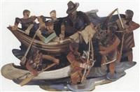 pilgrims' landing by timothy woodman