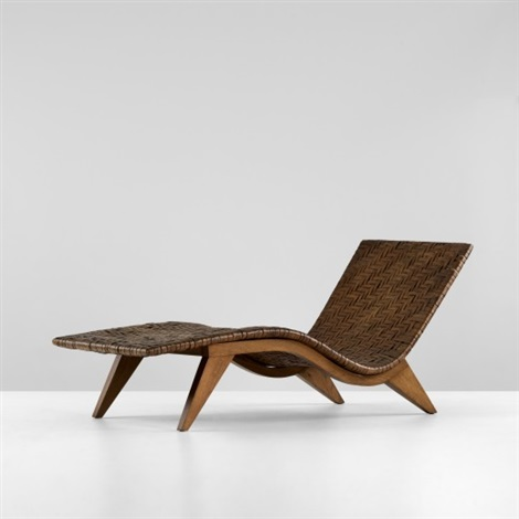 chaise by edward durell stone