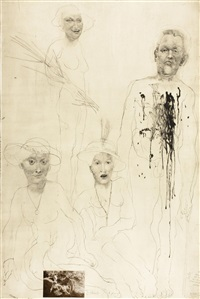 soldat und drei damen by jiri anderle