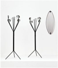 specchio da parete by santambrogio and de berti