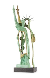 statue of liberty by arman
