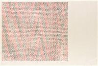 range * on/over/under (2 works) by mel bochner