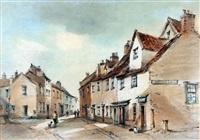 st. george street, norwich by arthur edward davies
