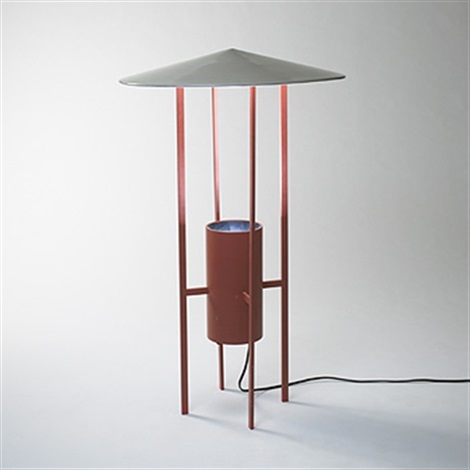 floor lamp collab w richard kelley by philip cortelyou johnson