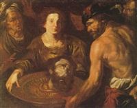 salomé con la testa del battista e altre figure by gioacchino assereto
