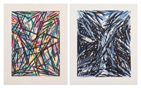 for decisions and revisions and night repair (two works) by charles arnoldi