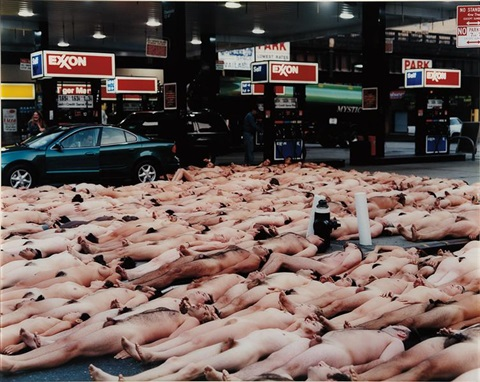 23rd street and tenth avenue nyc 2 by spencer tunick