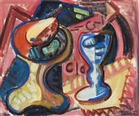 stillleben mit tablett und becher by jaroslav kafka