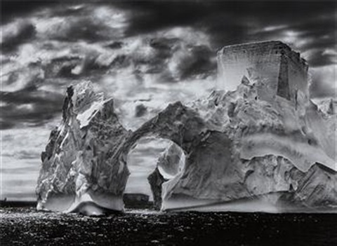 iceberg between the paulet islands and the shetland islands antarctica by sebastião salgado