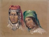 jeunes algériennes by lucette jeard-vernet