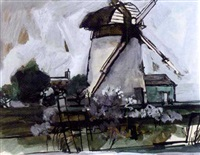 windmill by norman town
