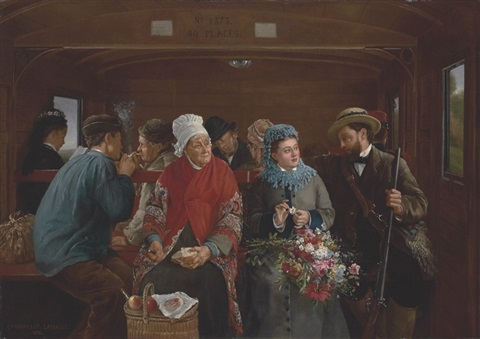 the railway carriage by camille léopold cabaillot lassale