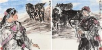 云之南 (yunnan series) (2 works) by luo jiang