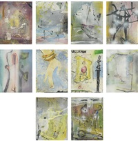 untitled (10 works) by michael byron