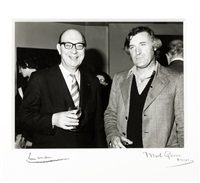 philip larkin and ted hughes by mark gerson