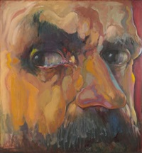 face of a man by renee radell