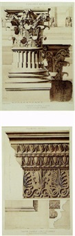 classical architectural studies by hector jean baptiste espouy