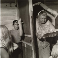 martins creek, pa (pat sabatine's eighth birthday party) by larry fink