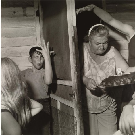 martins creek pa pat sabatines eighth birthday party by larry fink
