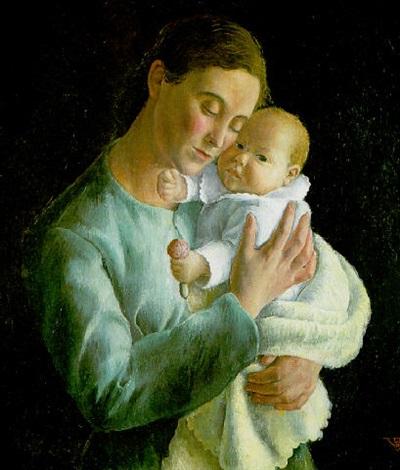 maternidad by rosario de velasco