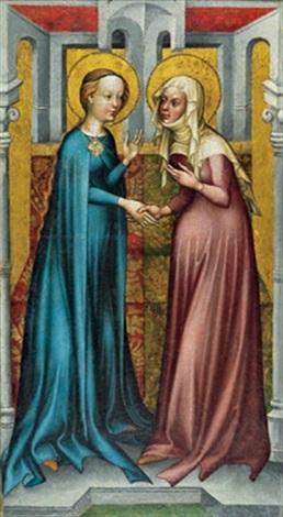 die heimsuchung mariae by austrian school 15