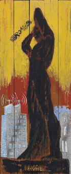 untitled (roma) by peter doig