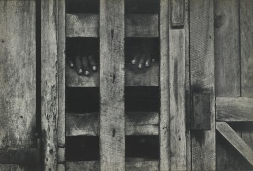 #10 - at dr. albert schweitzer's insane stockade by w. eugene smith