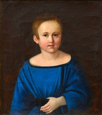 portrait of a boy by anonymous-russian