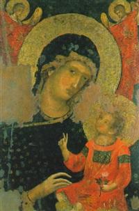madonna con bambino by paolo veneziano
