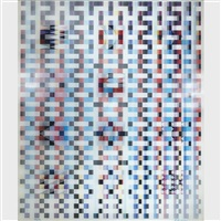 visual choreography (from the series the counterpoint) by yaacov agam