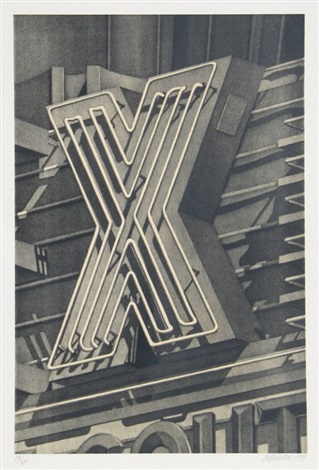 x by robert cottingham