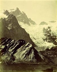 grand glacier de la grave (oisans) by victor muzet