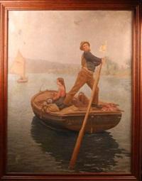 la traversée by jean a. langrand