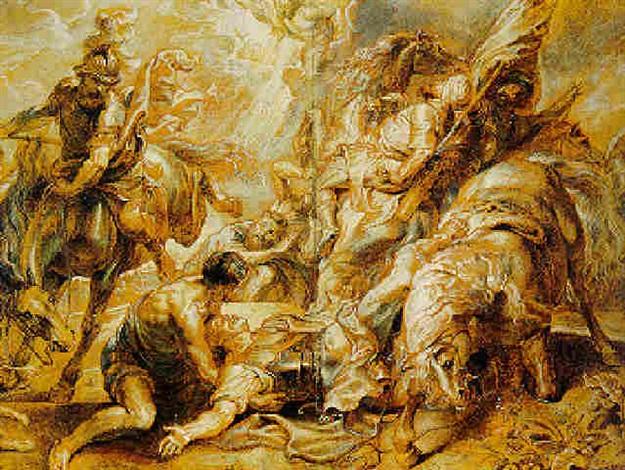 conversion of saint paul by abraham van diepenbeeck