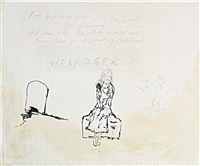 weird sex by tracey emin