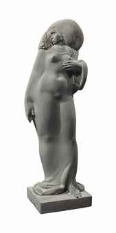 model of a nubian woman by ivan mestrovic
