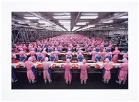 manufacturing #17, deda chicken processing plant, dehui city, jilin province, china by edward burtynsky