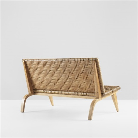 settee by edward durell stone