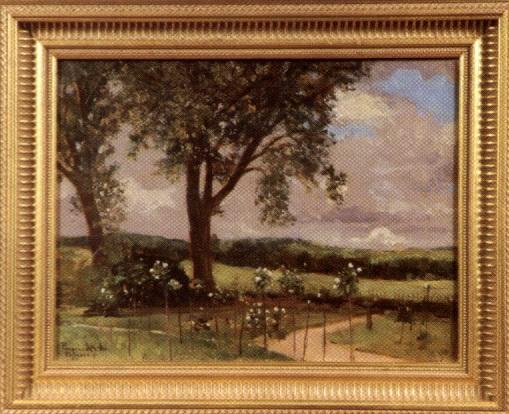 paysage by károly karl pongrácz von szentmiklós