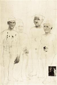 soldat, schwester und eltern by jiri anderle