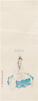 portrait of kwan-yin by shao fang
